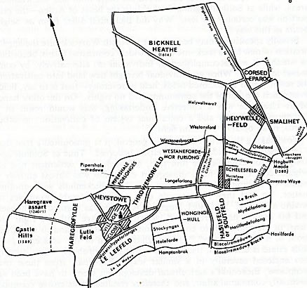 Bickenhill in the 14th Century