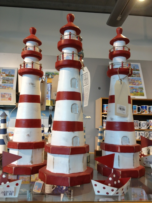 Lighthouses.
