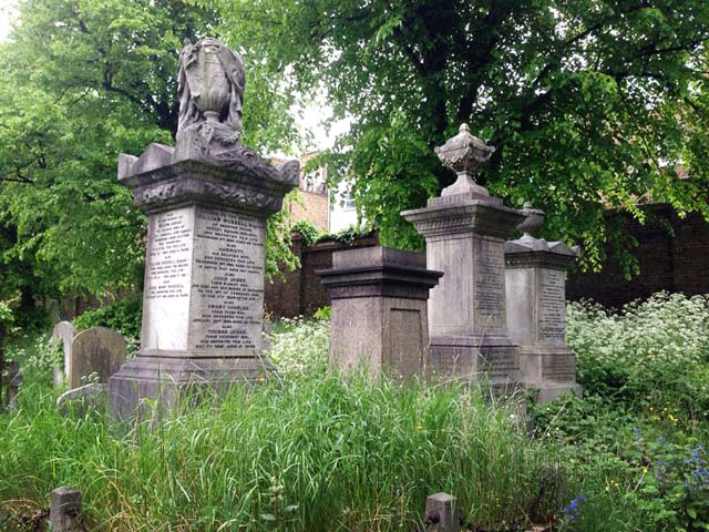 Brompton Cemetery Monuments