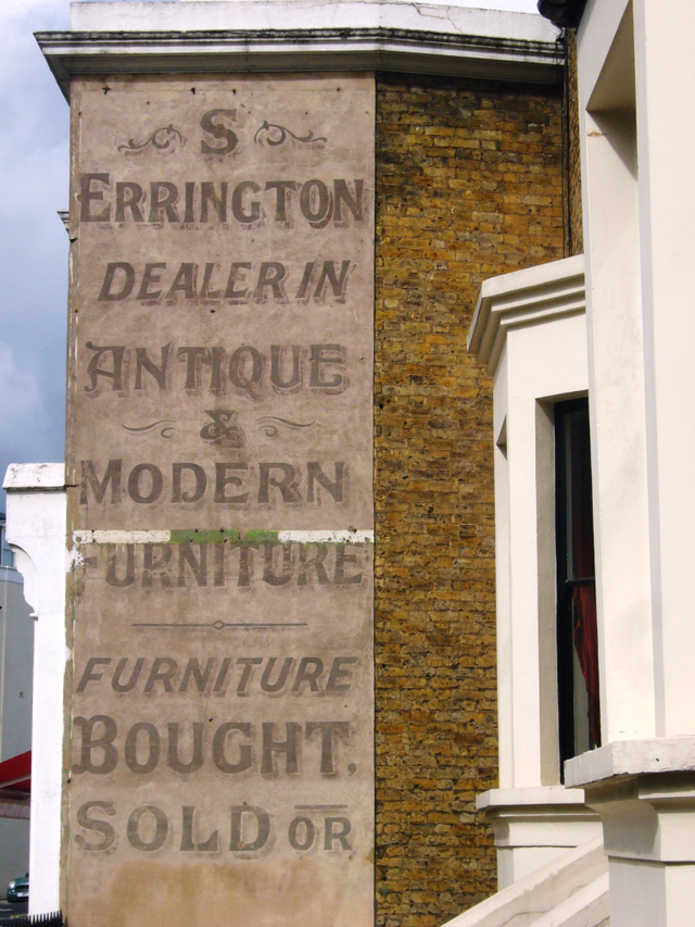 S Errington, Dulwich Road, London