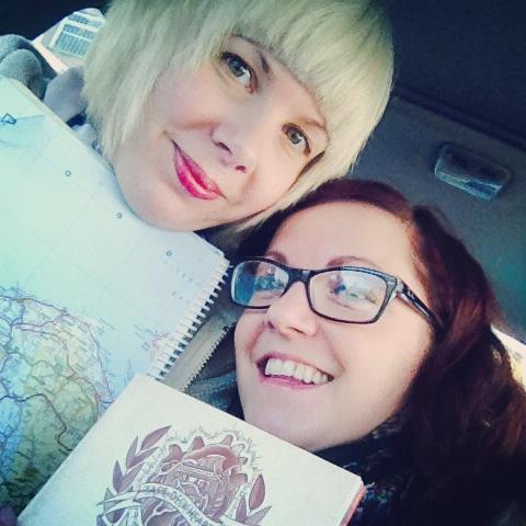 Jess & Me, ready to go