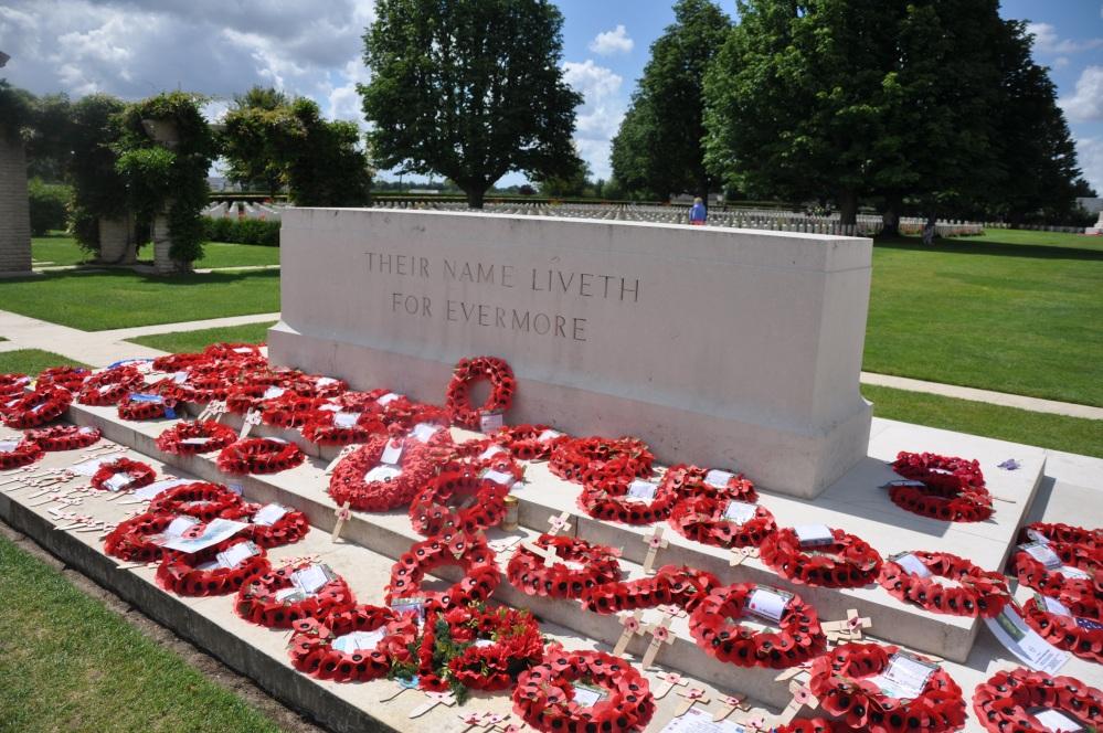 Bayeux War Cemetery, July 2014