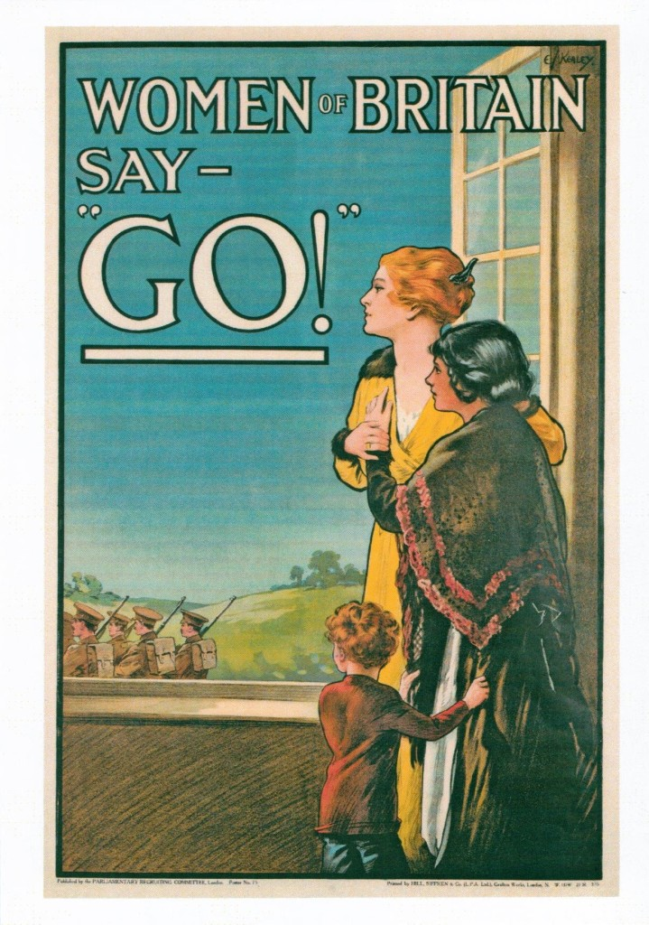 Women of Britain Say 'Go!' by E J Kealey 1915