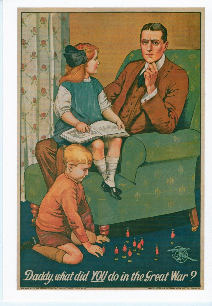 Daddy, What did You do in the Great War? by Savile Lumley 1914