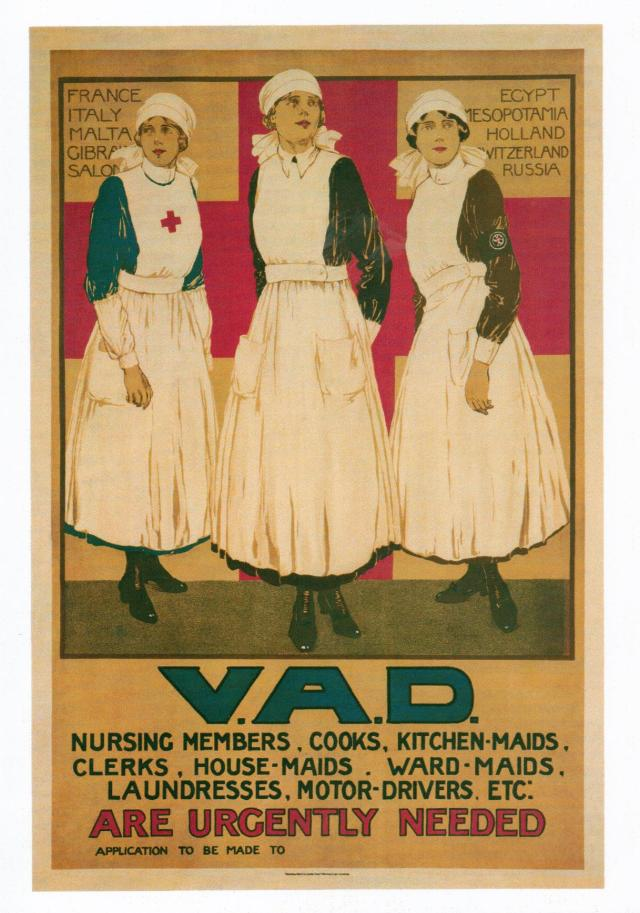 V.A.D by Joyce Dennys 1915