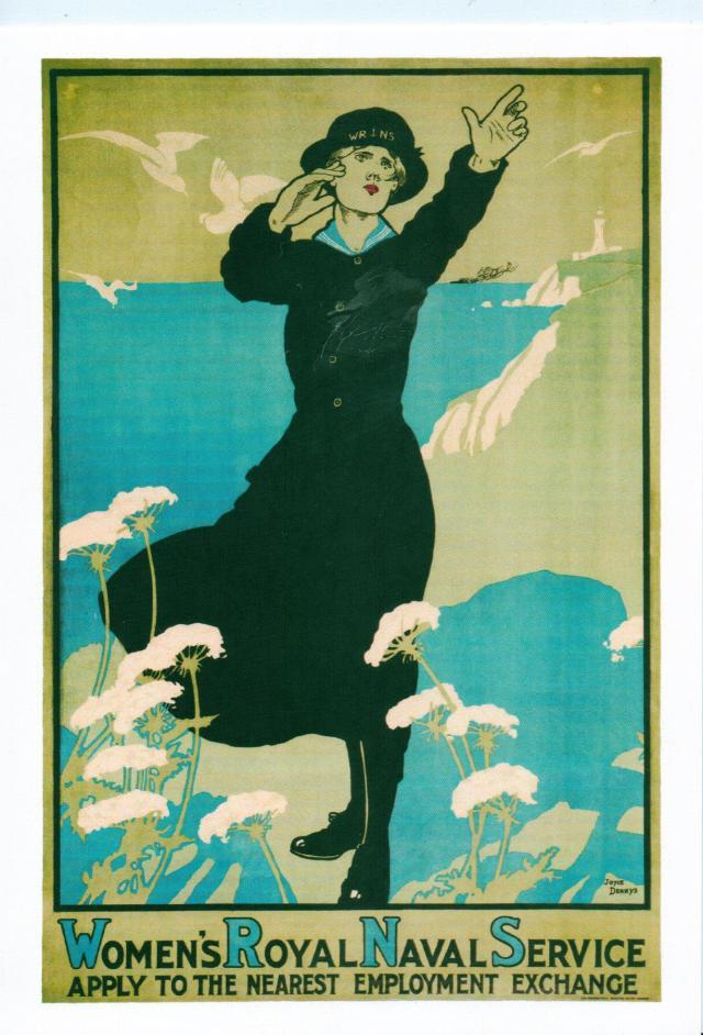 Women's Royal National Service by Joyce Dennys