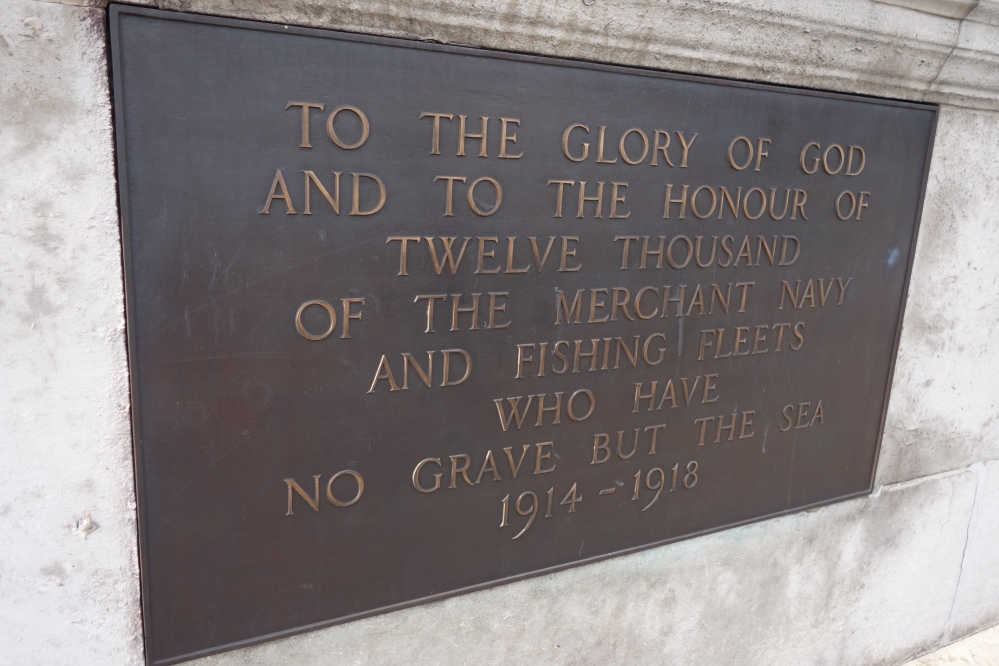Merchant Navy Memorial Aug 2014