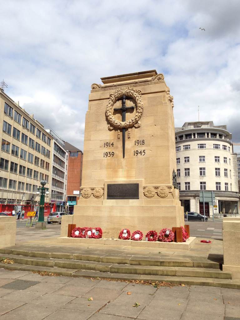 The Bristol Cenotaph ©Sheldon K. Goodman 2014
