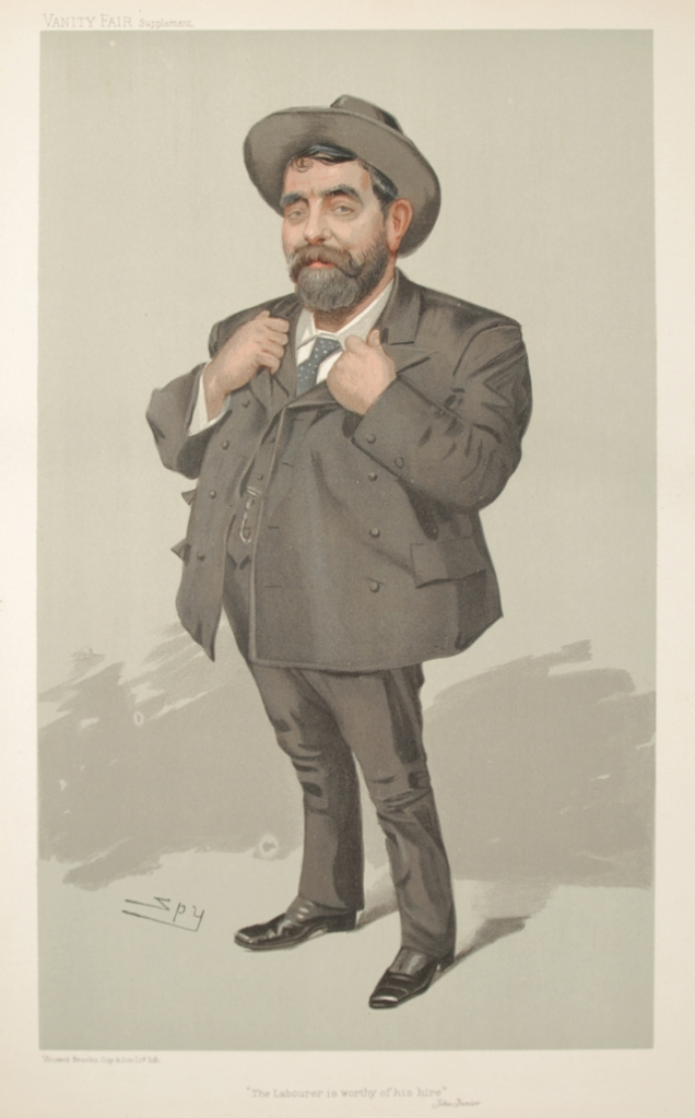 Crooks, caricature din Vanity Fair Magazine in 1905.  © The City College of New York 2014