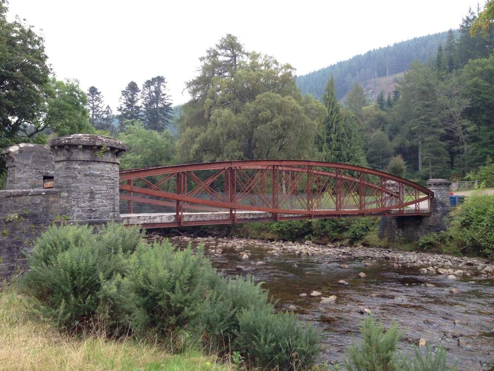 A bridge on the estate. Reminiscent of something else the same engineer designed...