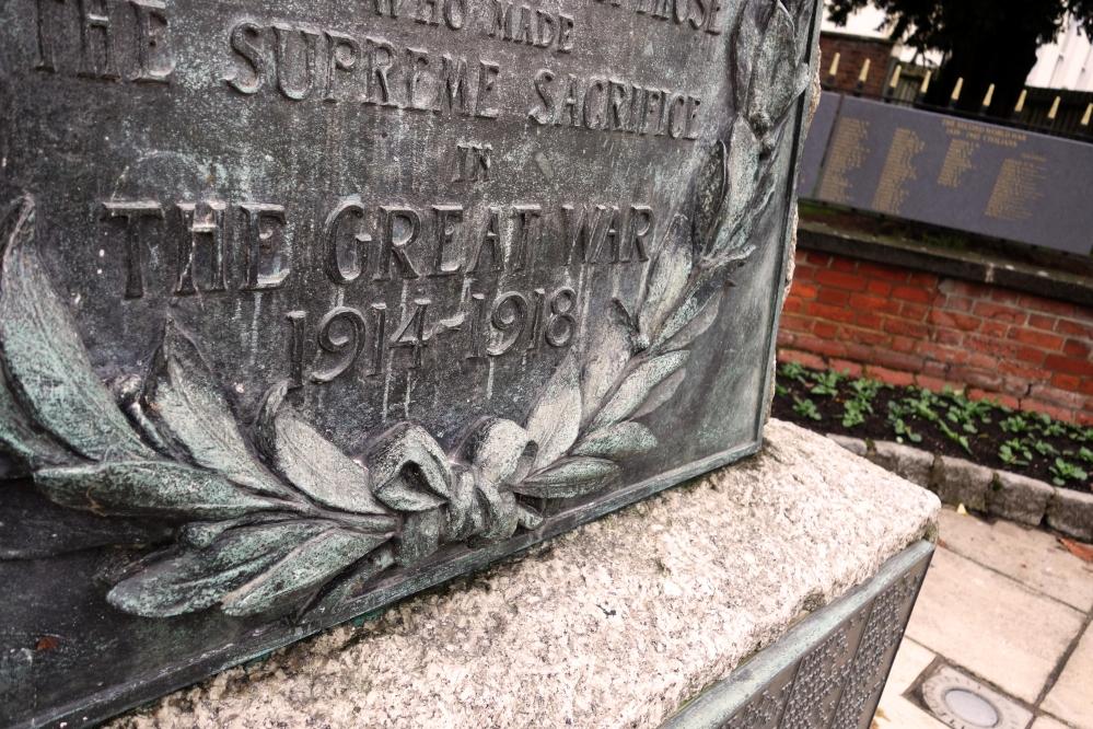 War Memorial, Penge, London October 2014
