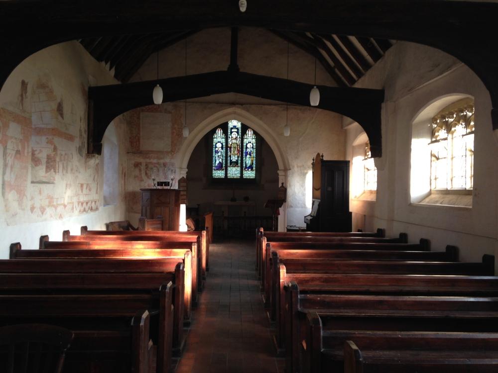 Inside Capel Church