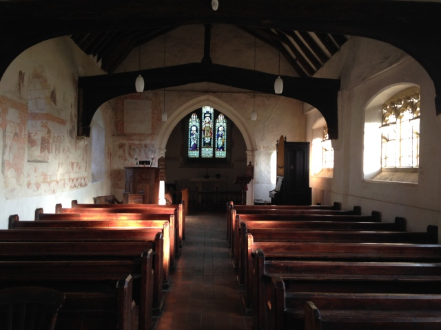 Inside Capel Church