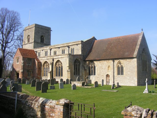 All Saints Church, from the south