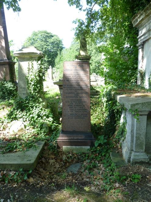George_Cruikshank_grave_Kensal_Green_Cemetery