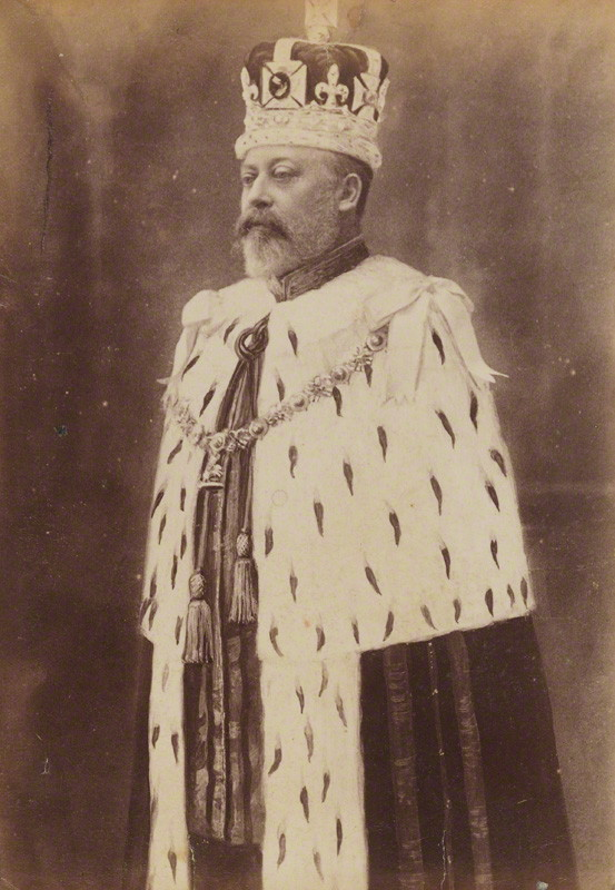 NPG P1700(62a); King Edward VII possibly by W. & D. Downey