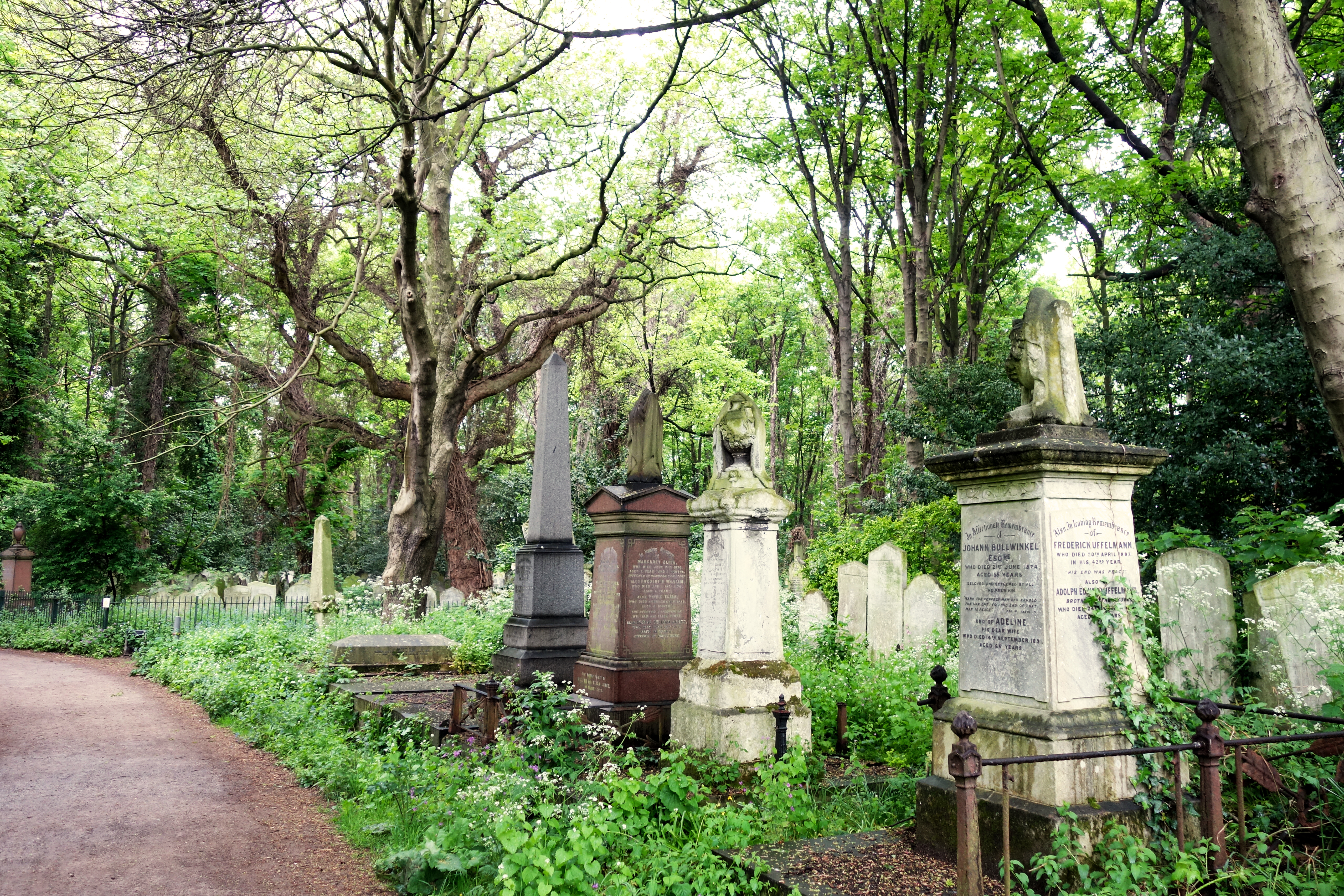 We Went On A Walk Around Tower Hamlets Cemetery Park in a