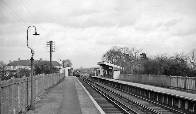 Birkbeck Station in 1961. Credit: Wikipedia