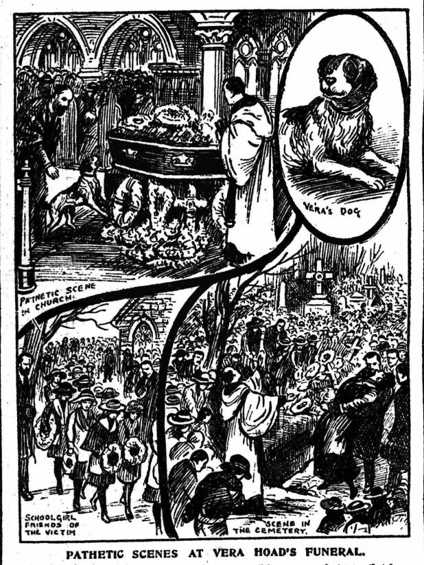 Vera Hoad Illustrated Police News Thursday 13 March 1924