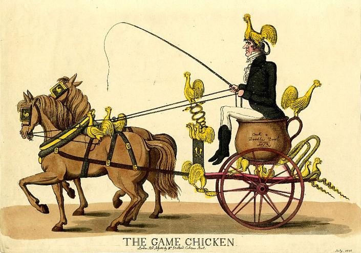 The Game Chicken, Robert Coates