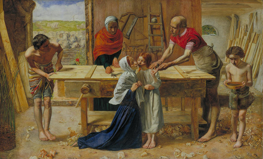 Christ in the House of His Parents - John Everett Millais.jpg