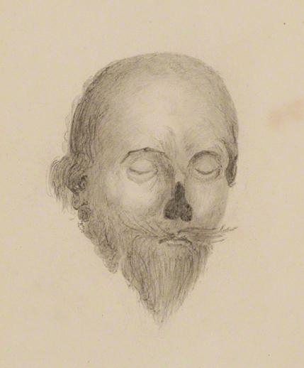 Image result for charles I sketch dead halford