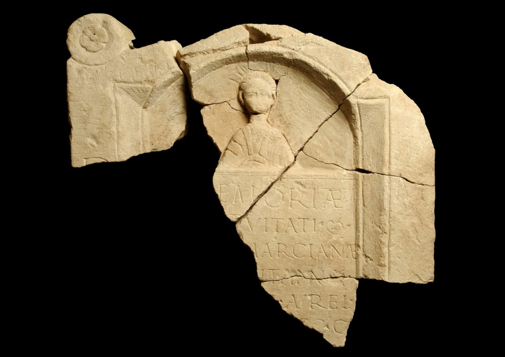 Tombstone of a 10-year-old girl, Marciana © Museum of London.jpg